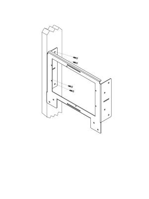 RTI K4DRYWALLBKT Pre-Construction Bracket for (K4)