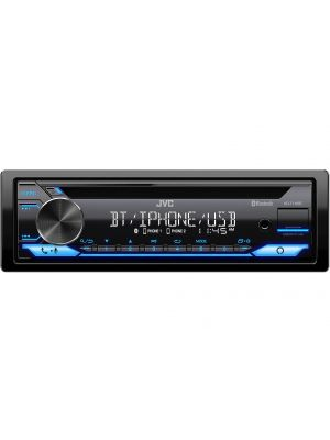 JVC KD-T710BT Single DIN Bluetooth In-Dash Digital Media Car Stereo Receiver with Amazon Alexa, Pandora, & Spotify Connectivity