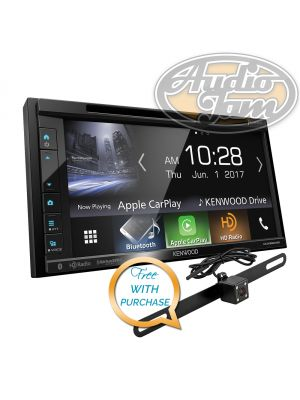 Kenwood DDX6904S 2-Din Monitor Receiver with Bluetooth & HD Radio