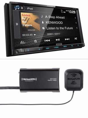 Kenwood Excelon DDX794 DVD Multimedia Receiver with FREE SiriusXM SXV300V1 Vehicle Tuner
