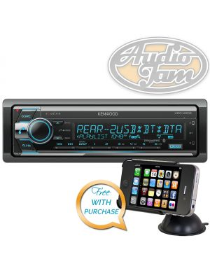 Kenwood KDC-X502 Car CD Receiver with Bluetooth