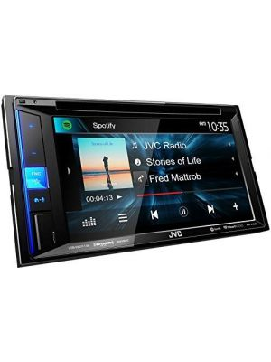 JVC KW-V25BT (KWV25BT) Double DIN In-Dash Bluetooth CD/DVD/AM/FM/Digital Media Car Stereo Receiver w/ 6.2