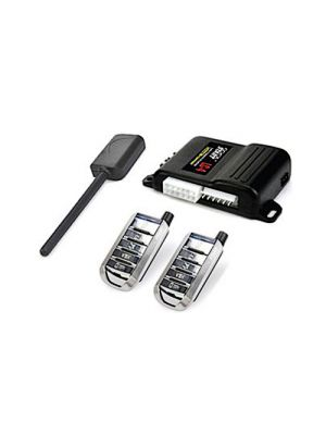 CrimeStopper LC4RS Cool Start LC Series 1-Way Low Current Remote Start System with 5-Button Remotes