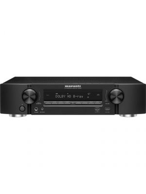 Marantz NR1605 7.1 Channel Slim Line A/V Home Theater Network Receiver with Wi-Fi®, Bluetooth®, and Apple AirPlay®