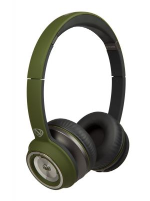 Monster® NC-MH-NTU-ON-M-GR-WW NCredible NTune Matte On-Ear Headphones with ControlTalk Universal™ (Matte Green)