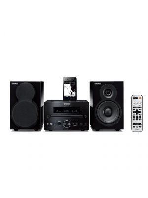 Yamaha MCR-332BL Micro Component System for iPod, iPhone and iPad (Black)
