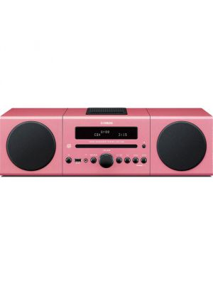 Yamaha MCR-B142PI Desktop Audio Bluetooth System (Pink)
