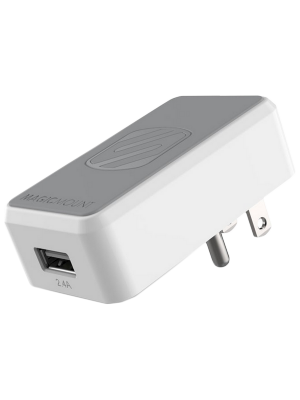Scosche MH121WT MagicMount Wall Charger - White