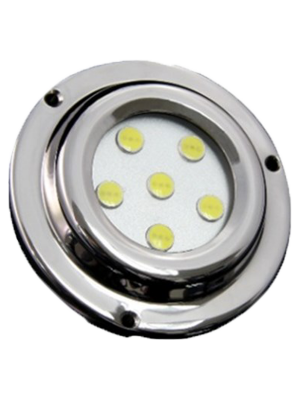 Race Sport MS-ML-6X1B 6 LED 6x1W Surface Mount Marine Light - Blue