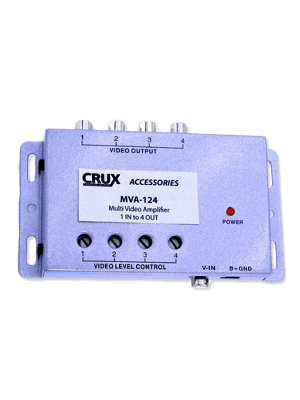 Crux MVA-124 Multi Video Amplifier - 1 In and 4 Out