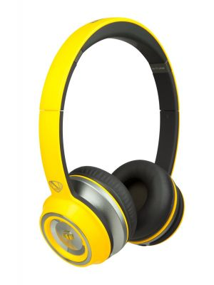 Monster® NC-MH-NTU-ON-N-YE-WW NCredible NTune Neon On-Ear Headphones with ControlTalk Universal™ (Neon Yellow)