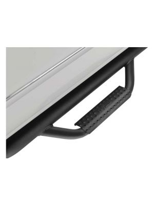 N-Fab Inc C1595QC-6 Nerf Step Bar with Bed Access Steps (Black)