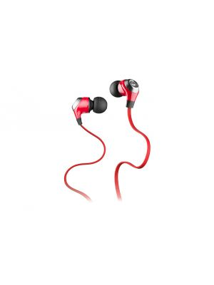 Monster® MH-NLT-IE-RD-CU-W NCredible NLite Noise-Isolating In-Ear Headphones (Red)