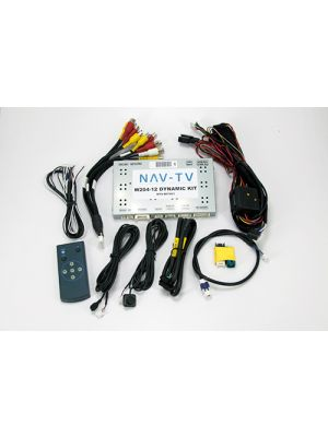 NAV-TV NTV-KIT461 - W204 - 12D Rear Cam / Video Interface Module for Mercedes 2012 -2016 (NTVKIT461)