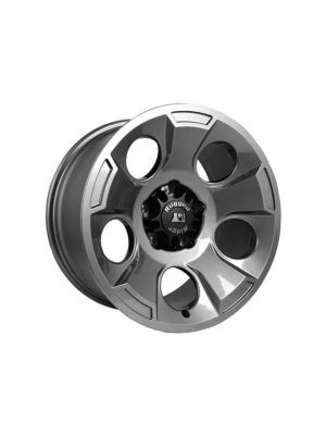 Rugged Ridge Drakon Wheel, 17x9, Gun Metal; 07-16 Jeep Wrangler JK
