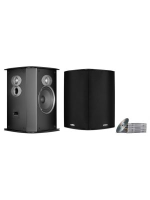 Polk Audio FXi A6 Surround Sound Speakers (Black)