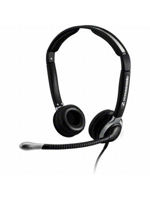 Sennheiser CC520IP Binaural Headset for VoIP Communication w/ ActiveGard® & Noise Cancelling Microphone