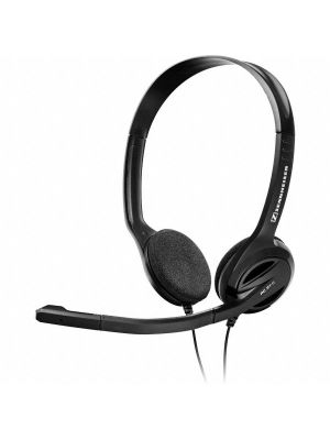 Sennheiser PC31II Double Sided Multimedia Headset w/ Noise Cancelling Microphone PC-31-II