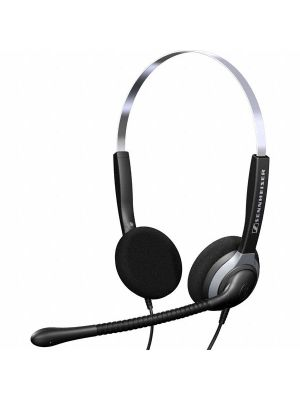 Sennheiser SH230/250 Economy Wired Headset w/ ActiveGard® Sound Protection & Carry Bag