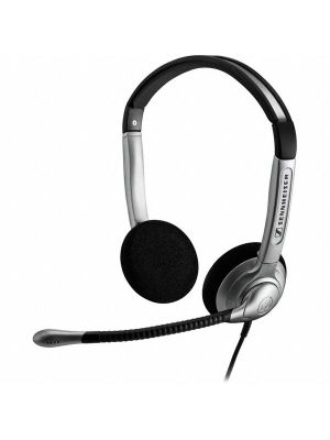 Sennheiser SH330/350 Wired Noise Cancelling Headset w/ ActiveGard® Sound Protection & Carry Bag (SH330) (SH350)
