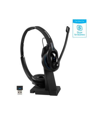 Sennheiser MBPRO2UCML Premium Double Sided Bluetooth® Headset for UC Professionals - Certified for Skype for Business