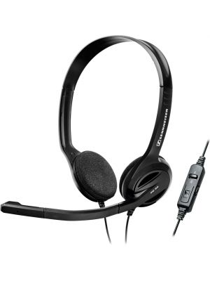 Sennheiser PC36 Double Sided Headset w/ Noise Cancelling Microphone & 3-in-1 Control PC-36