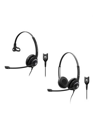 Sennheiser Circle™ SC230/260 Headset w/ USB Easy Disconnect Adapter Cable & ActiveGard® Hearing Protection