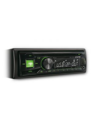 Alpine CDE-170 Single DIN CD Receiver and USB Controller (CDE170)