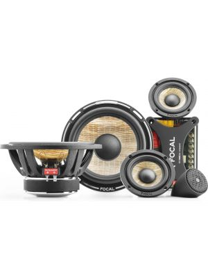 "Focal PS 165 F3 FLAX 6.5"" 3-way component kit, RMS: 80W - MAX: 160W"