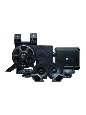 Alpine PSS-21GM Powered Sound System for 07-13 GM Truck