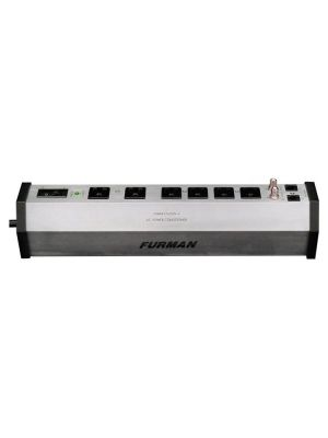 Furman PST-6 Power Station Home Theater Power Conditioner & Surge Protector - 6 Outlets