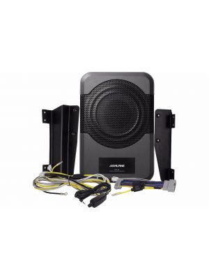 Alpine PWE-S8-WRA Powered Subwoofer for 2011-Up Jeep Wrangler