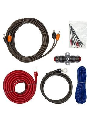 Raptor R3AK8 300W 8 Awg Amp Kit with Rca Cable - Vice Series