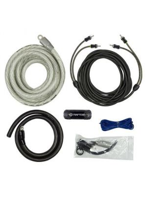 Raptor R5AK0 3800W 1/0 Awg Amp Kit with Rca Cable - Pro Series