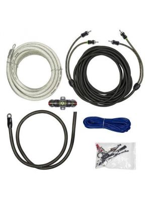 Raptor R5AK4 1500W 4 Awg Amp Kit with Rca Cable - Pro Series