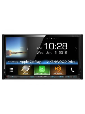 Kenwood DDX9703S 2-DIN Multimedia Monitor Receiver With Bluetooth & HD Radio