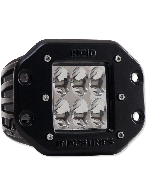 Rigid RIG51132 D2-Series Dually Driving Lights - Amber