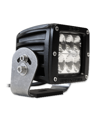 Rigid RIG52132 Black Dually HD Series Cube Driving Lights - Amber