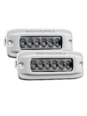 Rigid RIG97511 Flush Mount Marine SR-Q2 Wide Series (Pair)