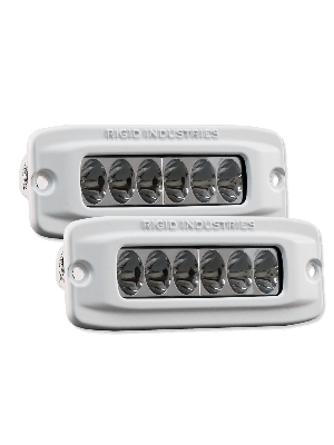 Rigid RIG97531 Flush Mount Marine SR-Q2 Driving Series (Pair)