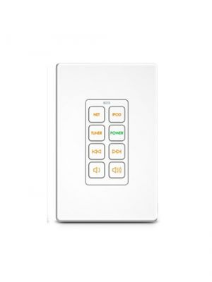 RTI RK1+8 8 Button In-Wall Keypad (White) (RK1)