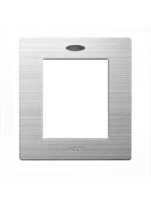 RTI BZSRK2 Silver Bezel Faceplate for (RK2)