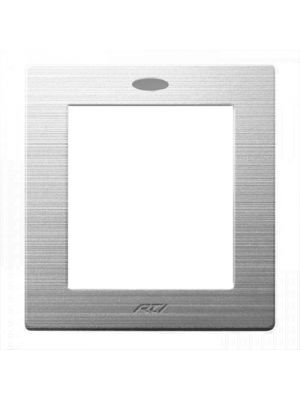 RTI BZSRK3 Silver Bezel Faceplate for (RK3)