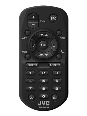 JVC RM-RK258 Wireless Remote for Multimedia Receivers