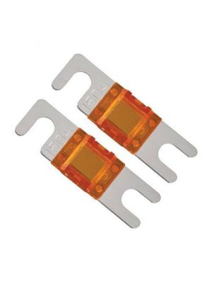 Raptor RMANL80 80 Amp Mini Anl Fuses Nickel Plated - Mid Series - 2 Pk