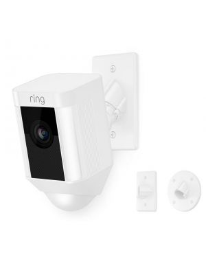 RING 8SH5P7-WEN0 White Spotlight Cam Mount