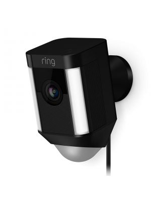 Ring 8SH1P7-BEN0 Spotlight Cam Wired, Black