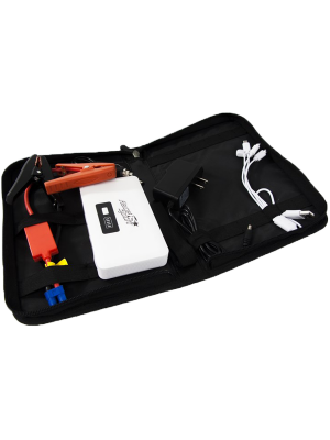 Race Sport RS-02-JUMP 12,000mAh Survival Series Jump Pack w/ Multi Connect