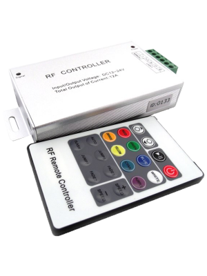 Race Sport RS-CONRF20B(H)3CHLV RGB Multi-Color LED 20-Key RF Controller