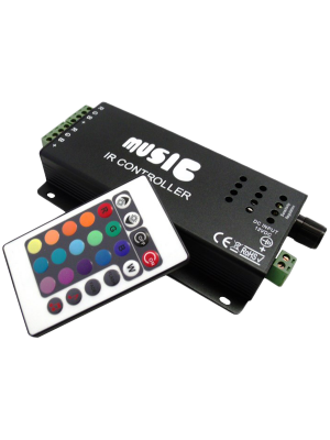 Race Sport RS-MUSIC-120W 120W Sound Activated LED Controller